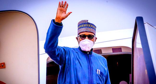 BREAKING: Buhari returns after Paris summit