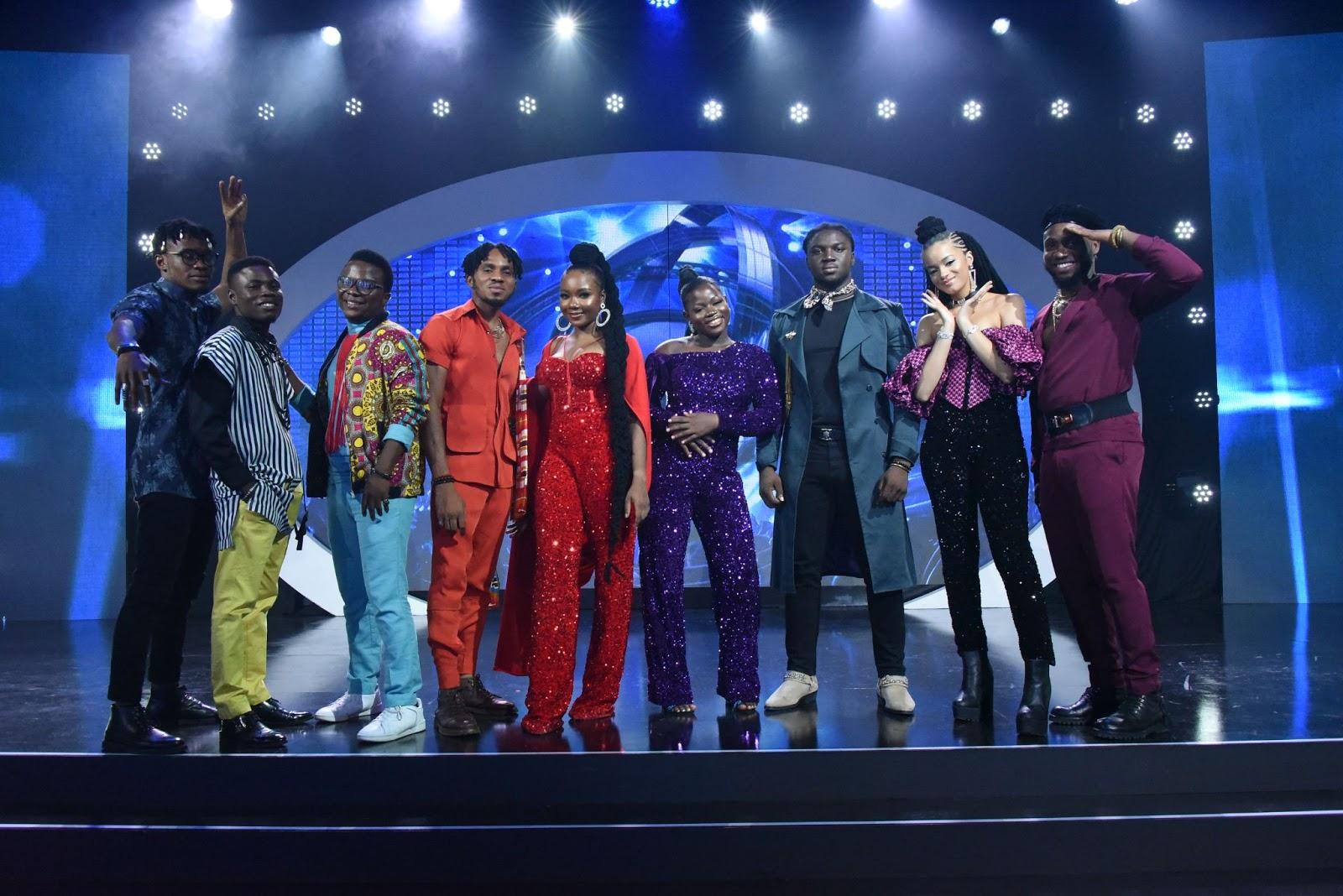 Nigerian Idol: Faith Mac and Dotun eliminated as top 9 emerge