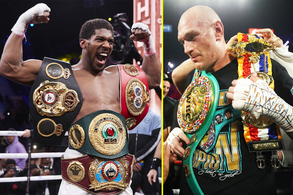 'Anthony Joshua vs Tyson Fury World Heavyweight fight scheduled for August'