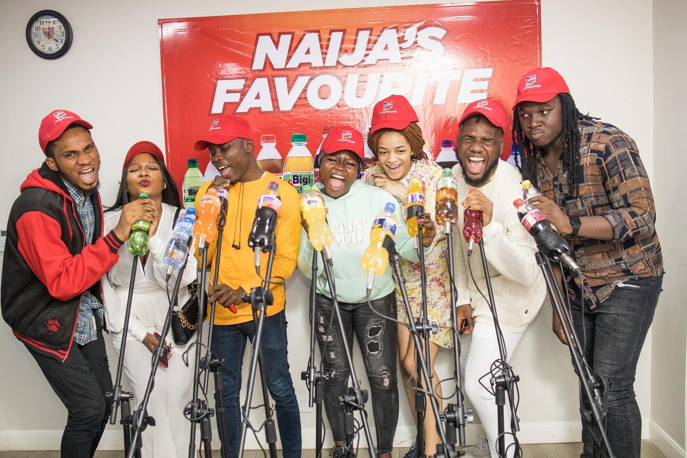 Nigerian Idol: Top seven contestants visit headline sponsor, Bigi drinks