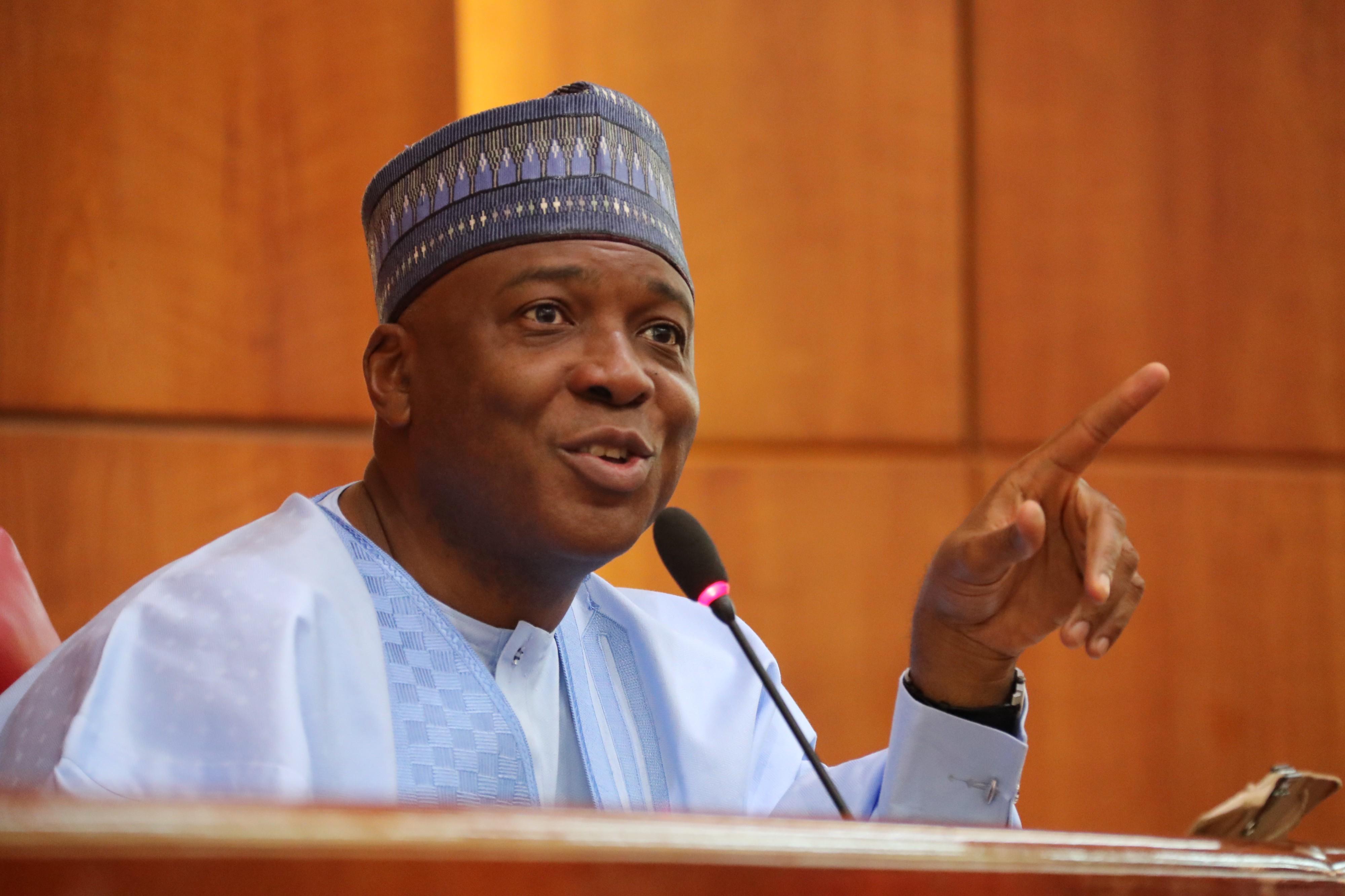 Nigeria needs new vision...current system not working, says Saraki