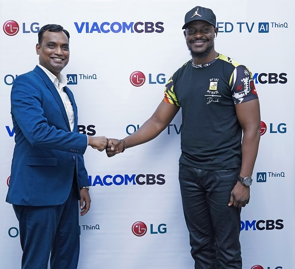 LG OLED partners with ViacomCBS Networks Africa to provide premium content