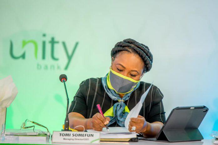Unity Bank MD, Oluwatomi Somefun in fresh trouble