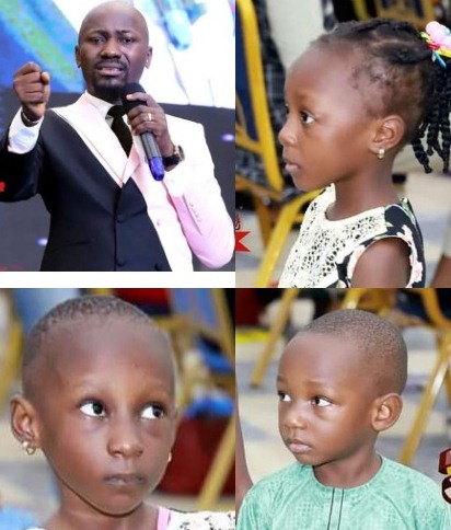 Apostle Suleman offers woman N50,000 monthly for 5 years, scholarship for her 3 kids