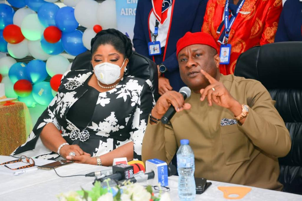 Fidelity Bank MD joins Air Peace to celebrate delivery of new aircraft