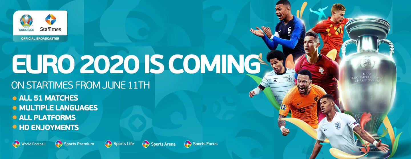 Euro 2020 kicks off with top class action on StarTimes