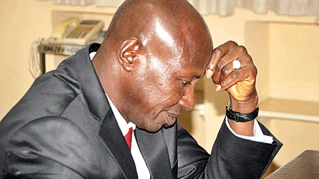 PDP tackles Buhari over plan to promote ex-EFCC boss, Ibrahim Magu