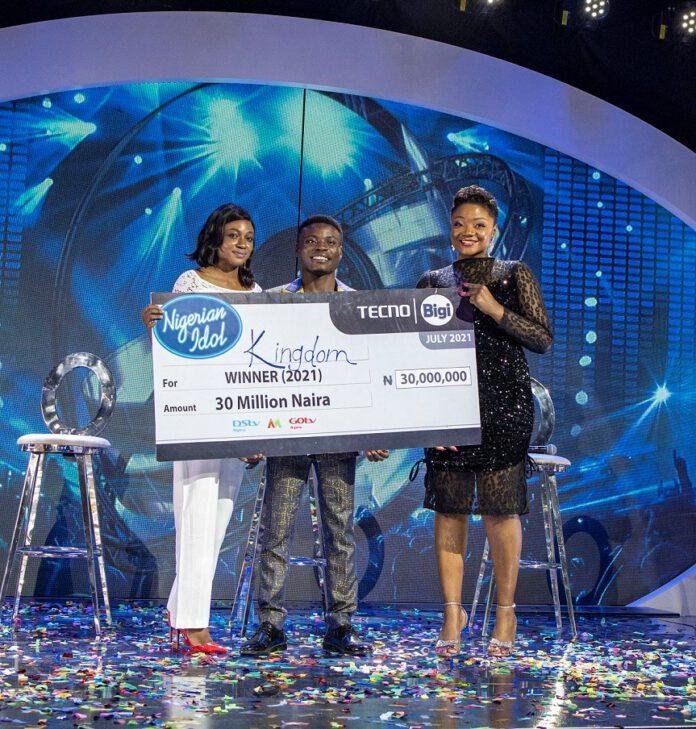 How Bigi refreshed Kingdom Kroseide to Nigerian Idol 2021 victory