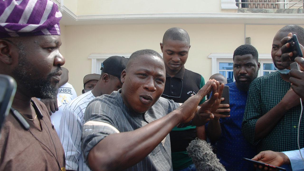 Sunday Igboho arrested in Benin Republic Airport