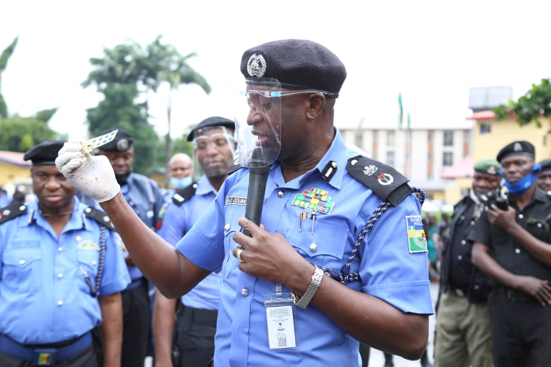 Lagos Council poll: Odumosu applauds officers for professionalism