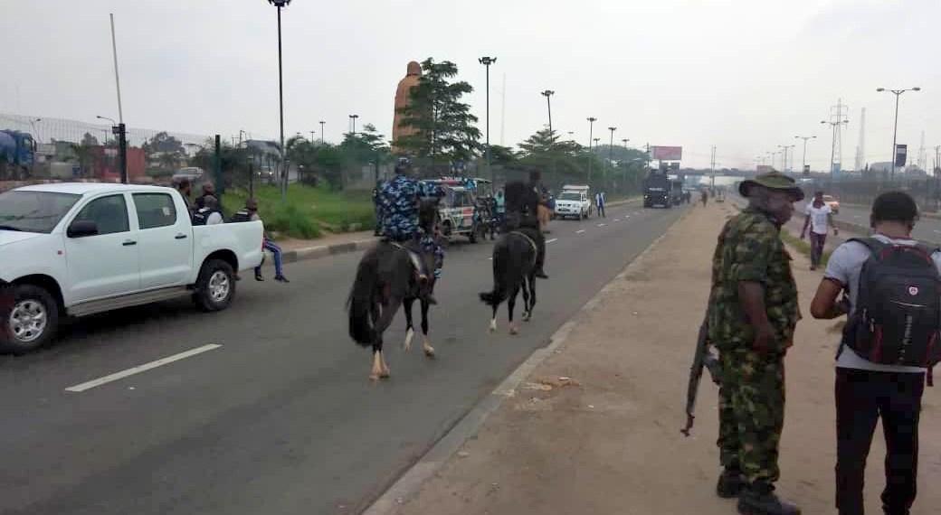 Yoruba nation rally: Police, Army seal off Freedom Park, agitators absent