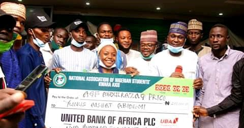 FEDPOFFA graduate wins Access bank 250k in Kano NYSC Camp