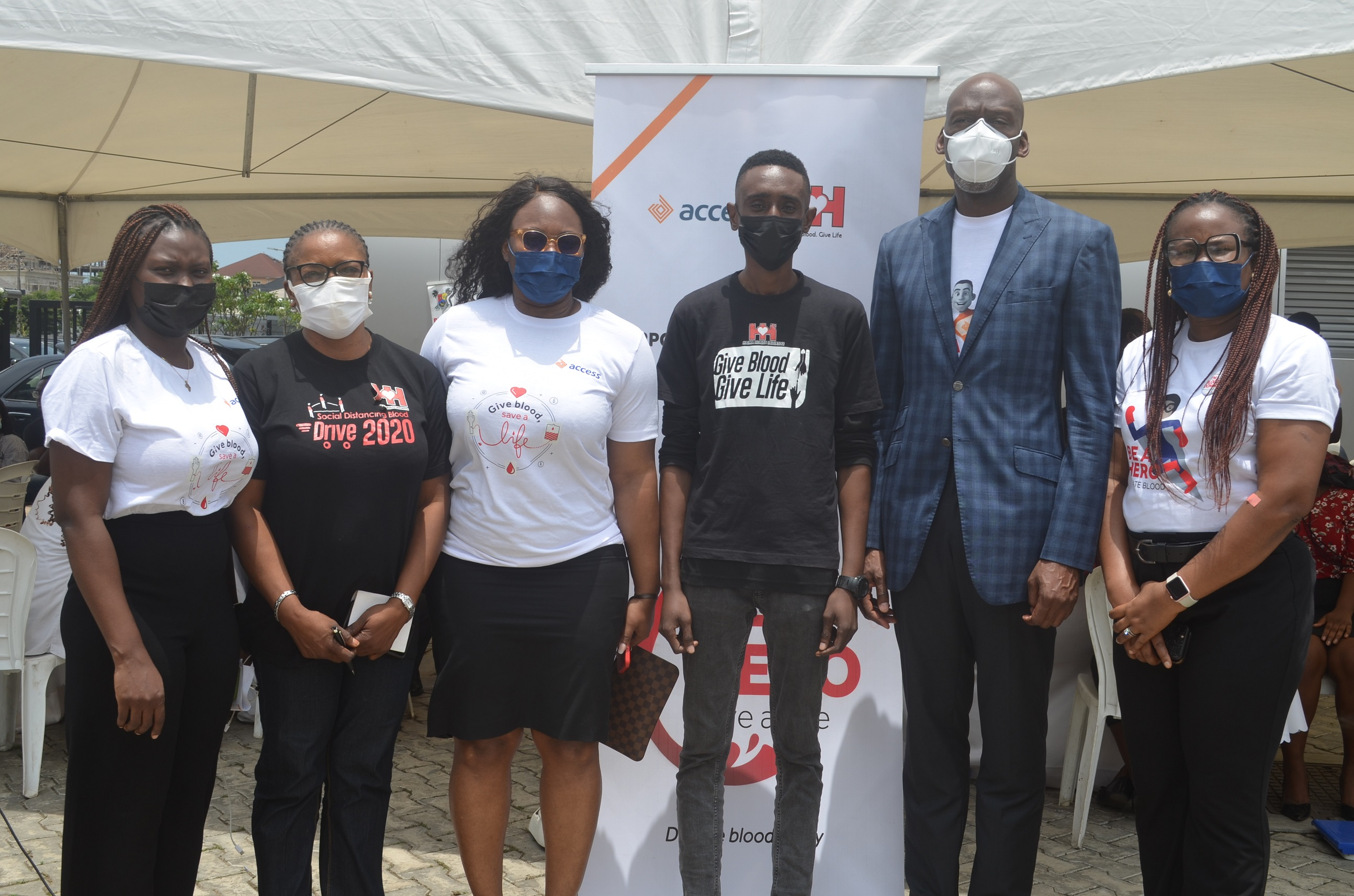 Access Bank spotlights issues around blood donation with EVS