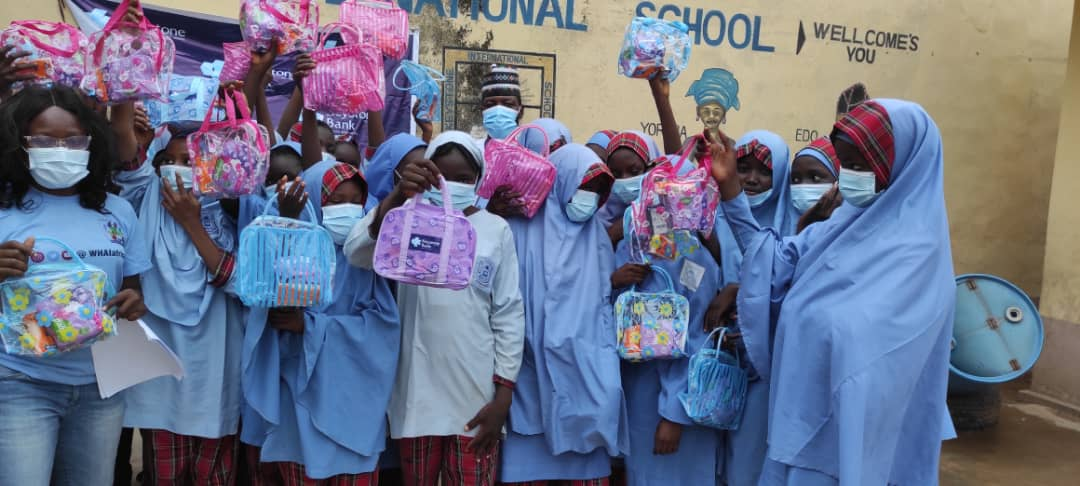 Keystone Bank donates sanitary kits to marginalized girls in North-East