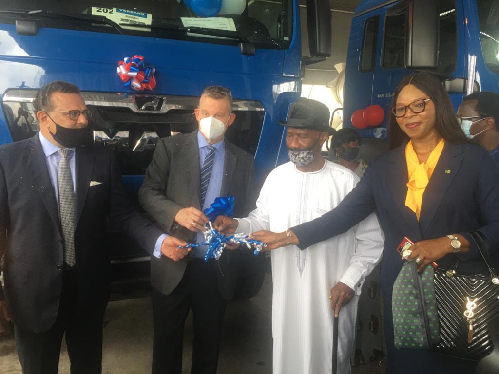 Heritage Bank, others bankroll SCOA handover of trucks to Julius Berger