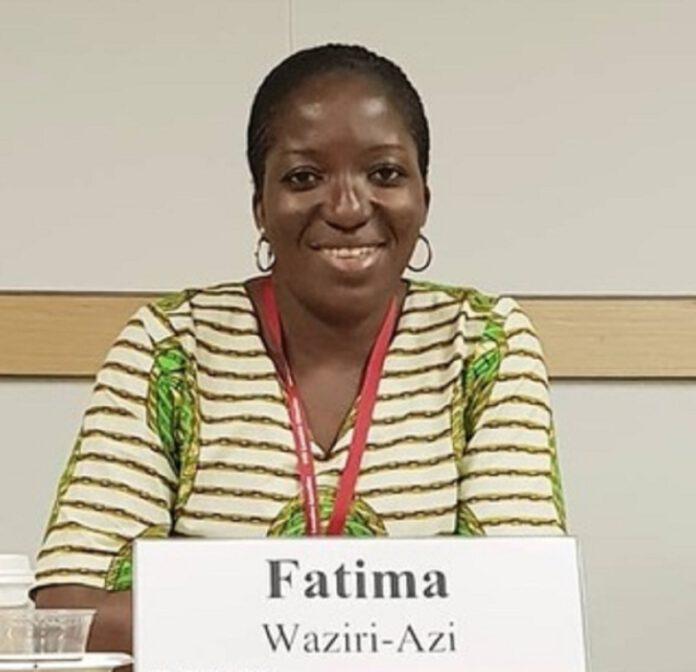 Fatima Waziri-Azi appointed NAPTIP DG