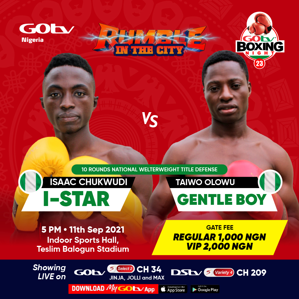 GOtv Boxing Night 23: I can't wait to floor Olowu, says I-Star